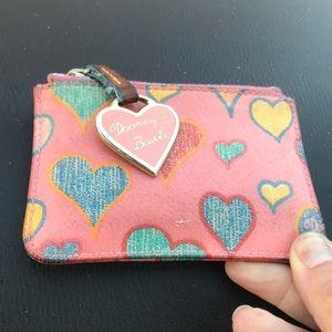 Dooney & Bourke coin small purse